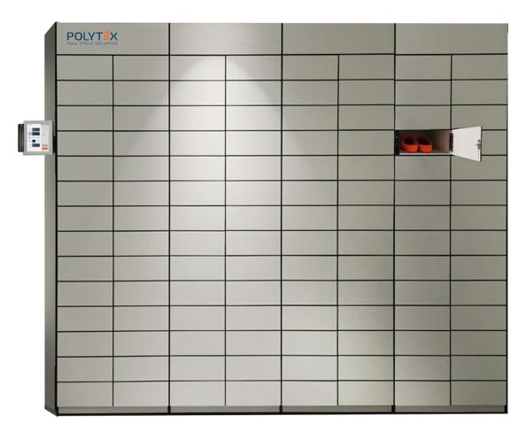 Bekleidungsautomat - Fächersysteme für Einzelentnahmen